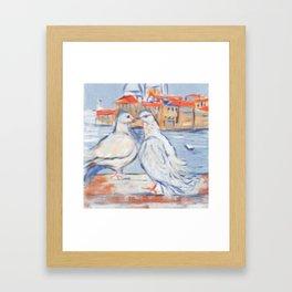 Venetian Love. Framed Art Print