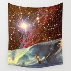 Surf Session Wall Tapestry