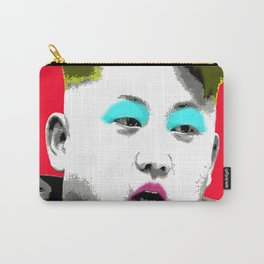 Marilyn Jong Un - Red Carry-All Pouch