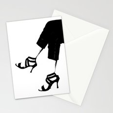 White Wall Stationery Cards