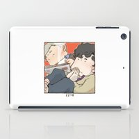 221b iPad Cases featuring 221B by Negative Dragon