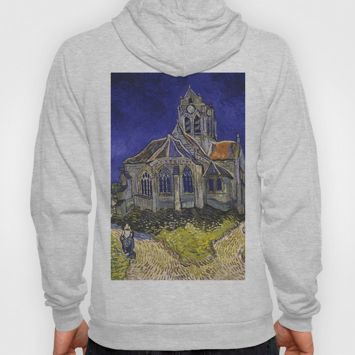 The Church at Auvers by Vincent van Gogh Hoody