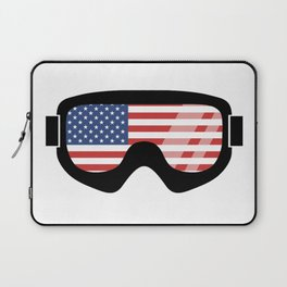 USA Goggles | Goggle Designs | DopeyArt Laptop Sleeve