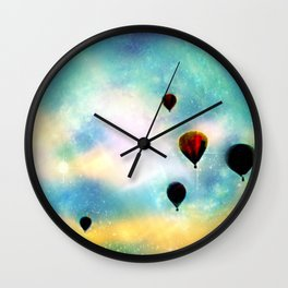 Navigating the Universe Wall Clock
