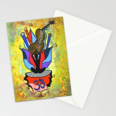 BLOOMING YOGA Stationery Cards