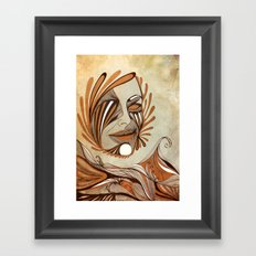 The Sea & The Sun Framed Art Print