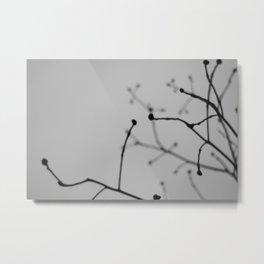 Silouette Metal Print