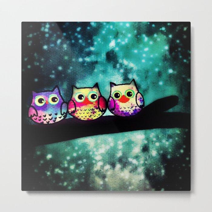 owl-253 Metal Print