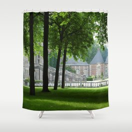Guarding Trees Shower Curtain