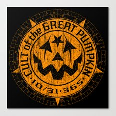 Cult of the Great Pumpkin: Alchemy Logo Canvas Print