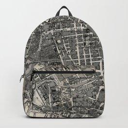 Vintage Map of Berlin Germany (1870) Backpack