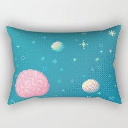 Brain Planet (8bit) Rectangular Pillow