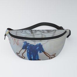 Beware Zombie Vern Fanny Pack