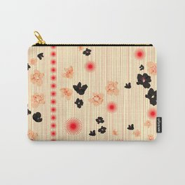 spotted blooms Carry-All Pouch