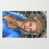 fairytale Area & Throw Rugs featuring Fairytale Princess by Design Windmill