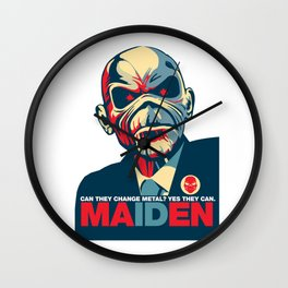 Iron Maiden Wall Clock