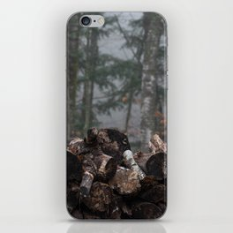 Log Pile iPhone Skin