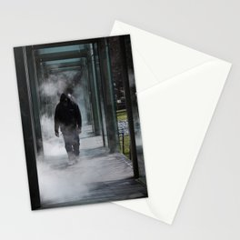 Man In The Mist Stationery Cards