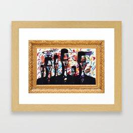 Graced Framed Art Print