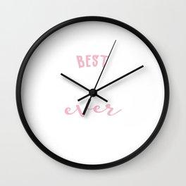 Best Craftswoman Ever Gift Idea Wall Clock