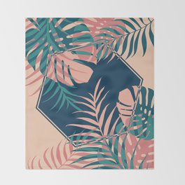 Tropical Dreams #society6 #decor #buyart Throw Blanket