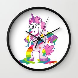 Funny Unicorn Wall Clock