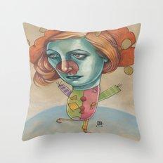 JUGGLING CLOWN Throw Pillow