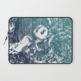 Inky Shadows - Blue edition Laptop Sleeve