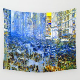 Childe Hassam Fifth Avenue New York Wall Tapestry