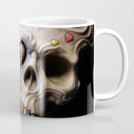 Siamese Skull Love Coffee Mug
