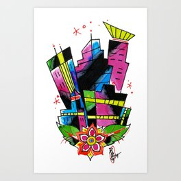 MPLS Art Print