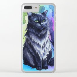 The Shadow Cat Clear iPhone Case
