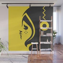 Yellow char Wall Mural