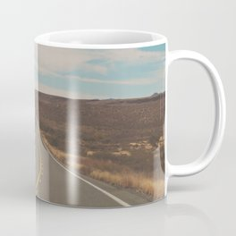 explore. adventure. Open Road Coffee Mug