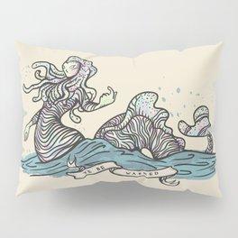 YE BE WARNED Pillow Sham