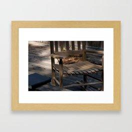 The Reading Spot Framed Art Print