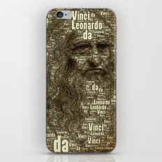 Leonardo da Vinci iPhone & iPod Skin