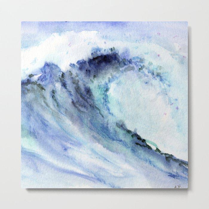 Make Waves Metal Print