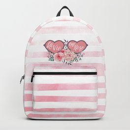 La Vie en Rose (Rose Colored Glasses) #society6 Backpack