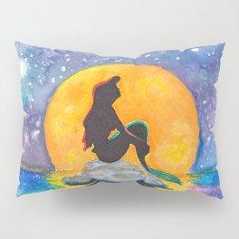 The Little Mermaid Galaxy Pillow Sham