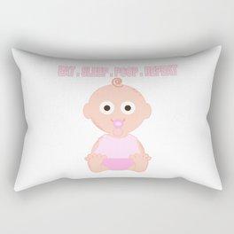 A Baby Girls's Job! Rectangular Pillow