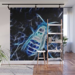 Crystal Ice Hornet Wall Mural