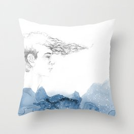 His seacret Throw Pillow