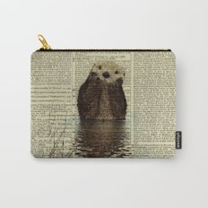 Otter in Love Carry-All Pouch