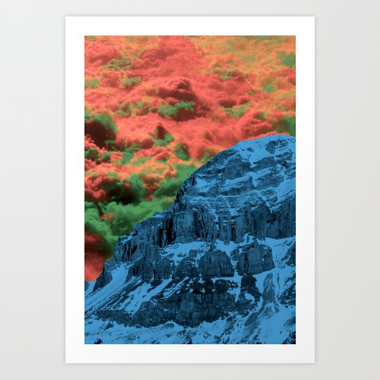 To the End of Mankind Art Print