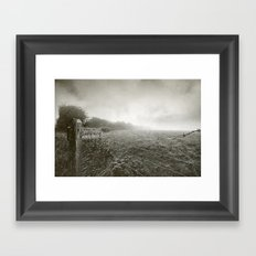 Woody Bay Framed Art Print