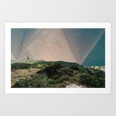 Sky Camping Art Print