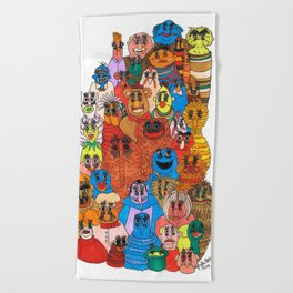 moppets Beach Towel