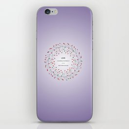 Love is in the air 2 iPhone Skin