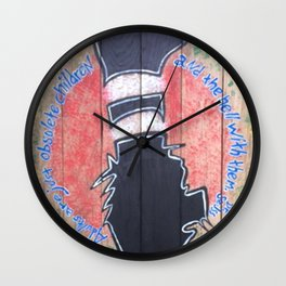 Obsolete Children Wall Clock